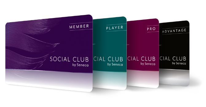Seneca Social Club Cards