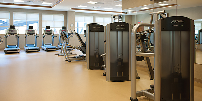 Fitness Center at Seneca Niagara Resort & Casino