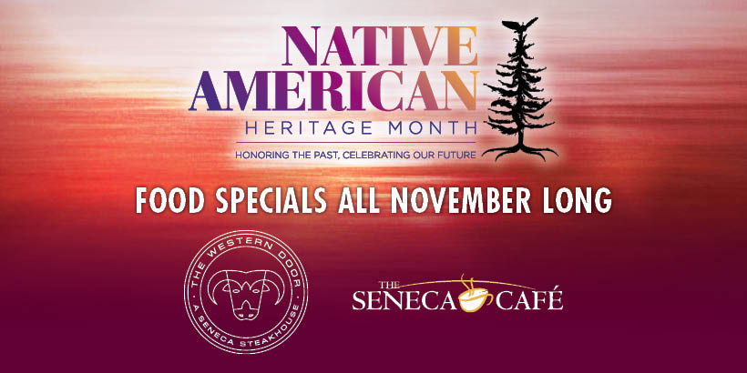 Native American Heritage Month Dining Specials